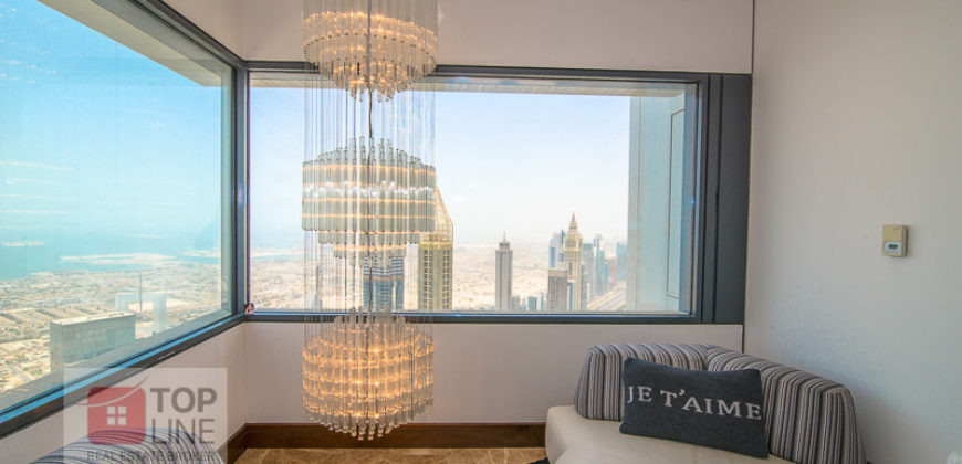 Fully Furnished 4BR Penthouse
