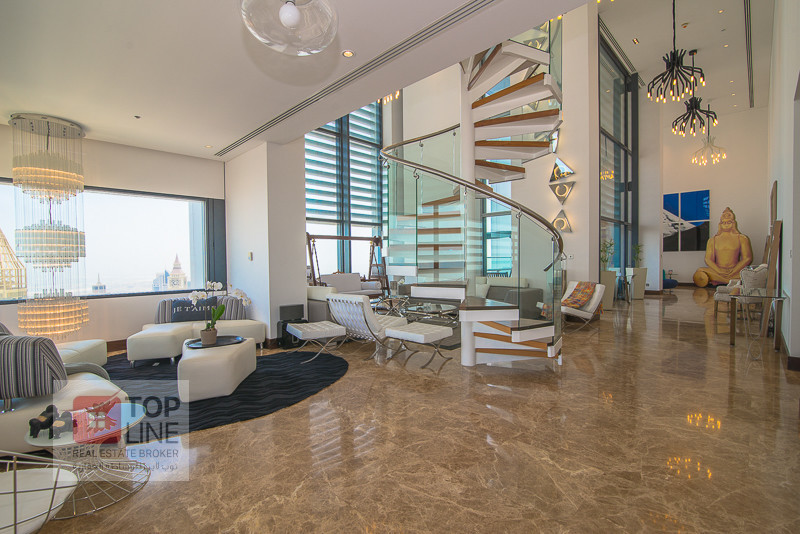 Fully Furnished 4BR Penthouse Index Tower, DIFC