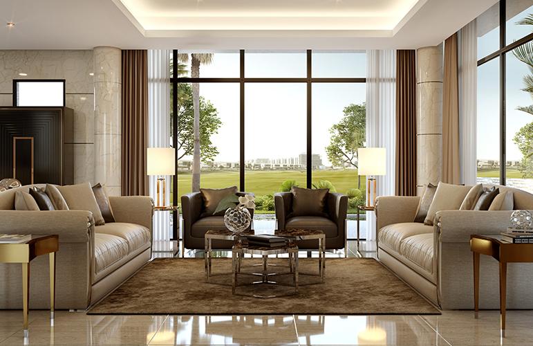 Luxury villas & apartments in Dubai
